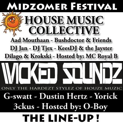 Midzomer Festival Willemstad line up