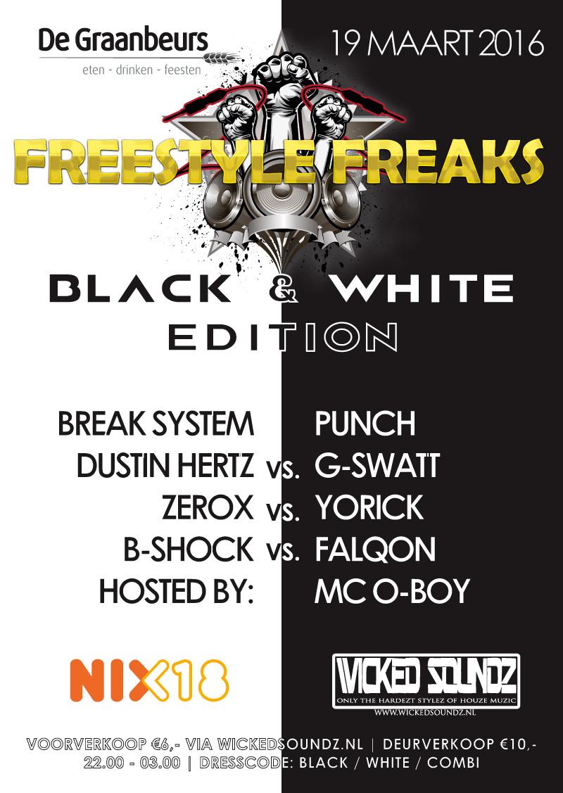 Freestyle Freaks 19 maart 2016