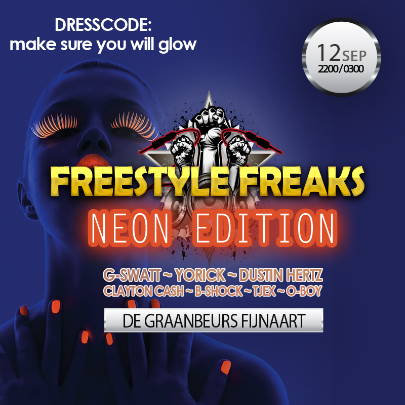 Freestyle Freaks - NEON EDITION (12 sep)