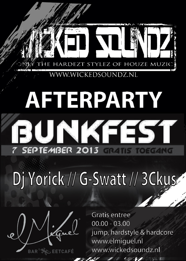 Bunkfest Afterparty